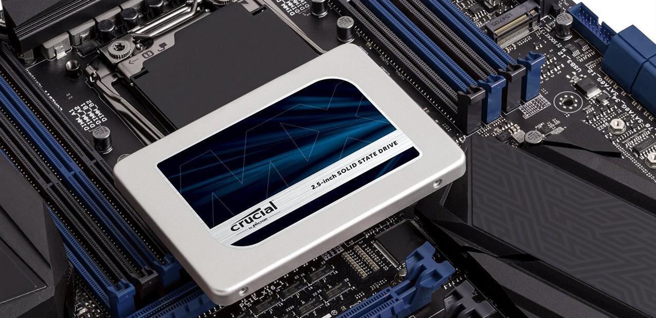 Crucial : les SSD MX300 de 275 Go à 1 To sont disponibles dès 0,27 € par Go