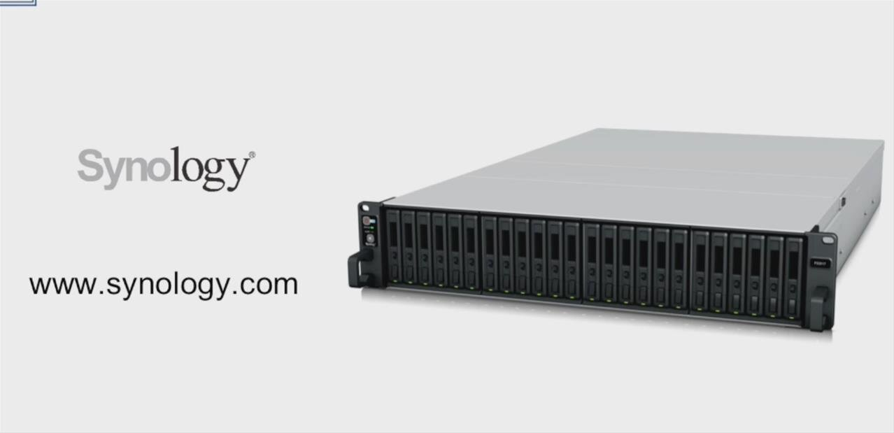 Synology FlashStation FS3017 : un NAS avec deux Xeon capable de grimper à 200 000 IOPS