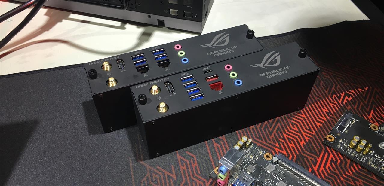 ASUS Avalon : pour fêter les 10 ans de ROG, un projet de PC modulaire presque sans câbles