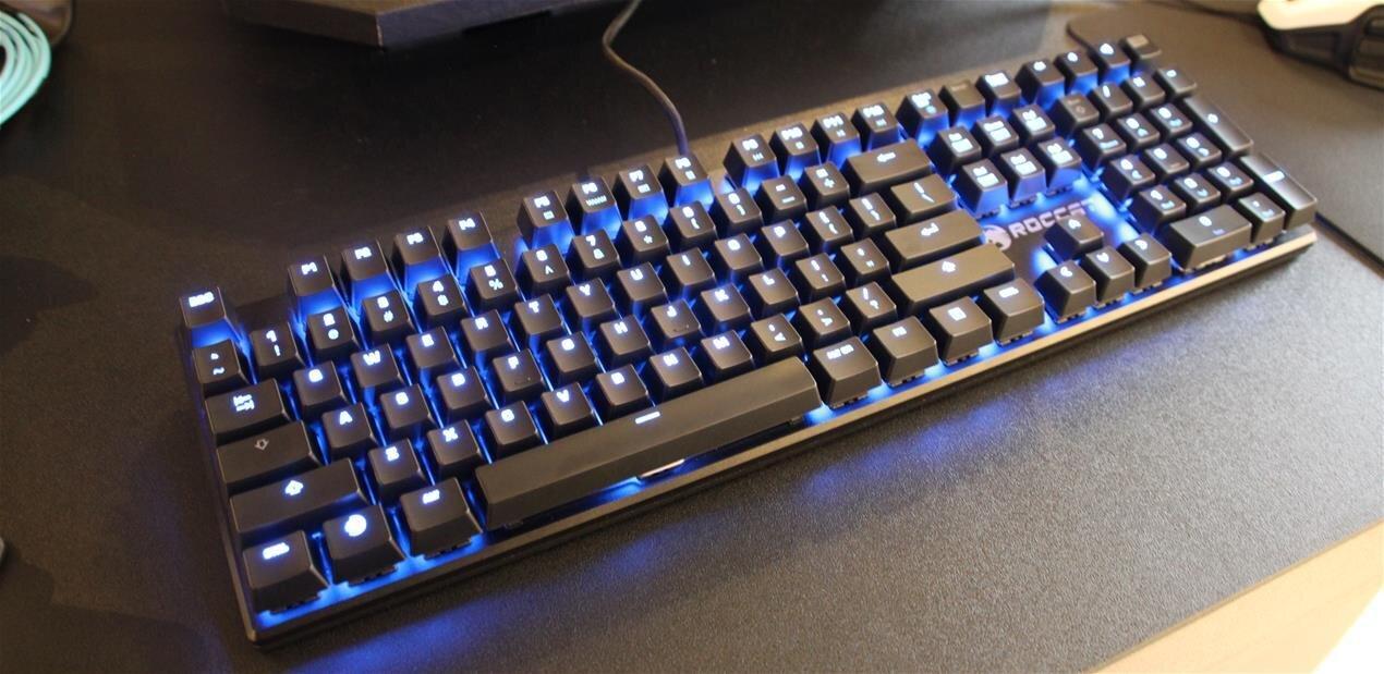 Roccat Suora : un clavier mécanique rétroéclairé« sans coque »à 99 euros