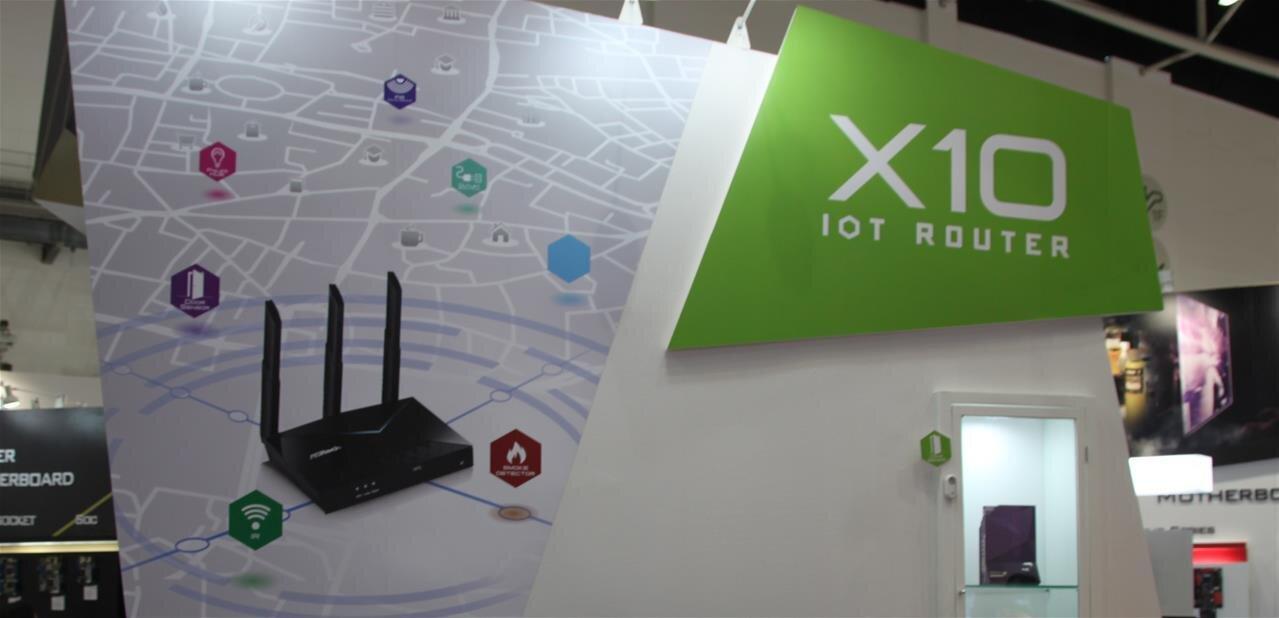 ASRock X10 : un routeur Wi-Fi 802.11ac avec LoRa, Zigbee et de l'infrarouge