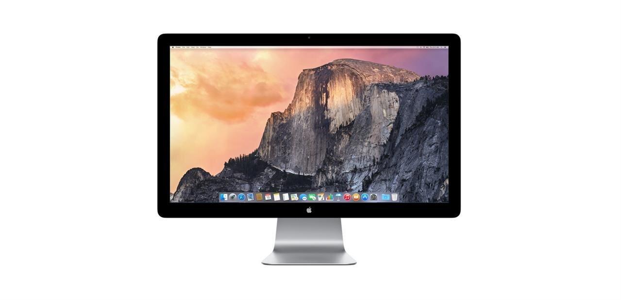 Apple : l'écran Thunderbolt va disparaître sans grandes pompes