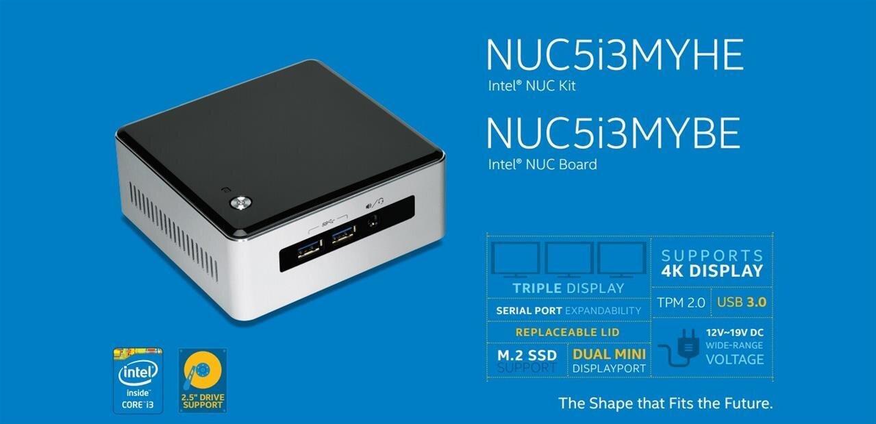 Les NUC Broadwell d'Intel sont disponibles, à partir de 299,95 €