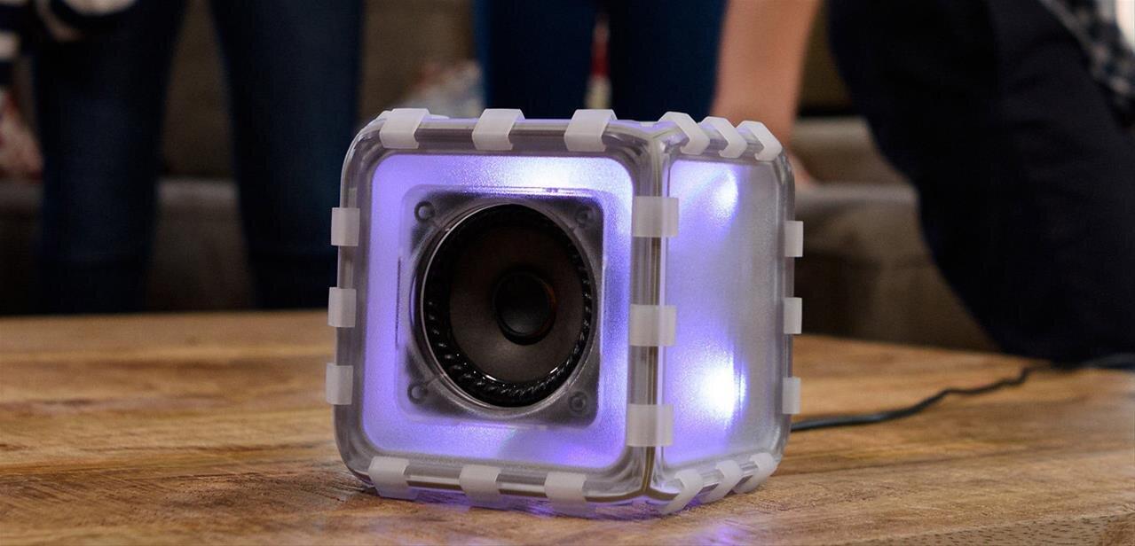 Bose lance le Speaker Cube, une enceinte Bluetooth à assembler soi-même