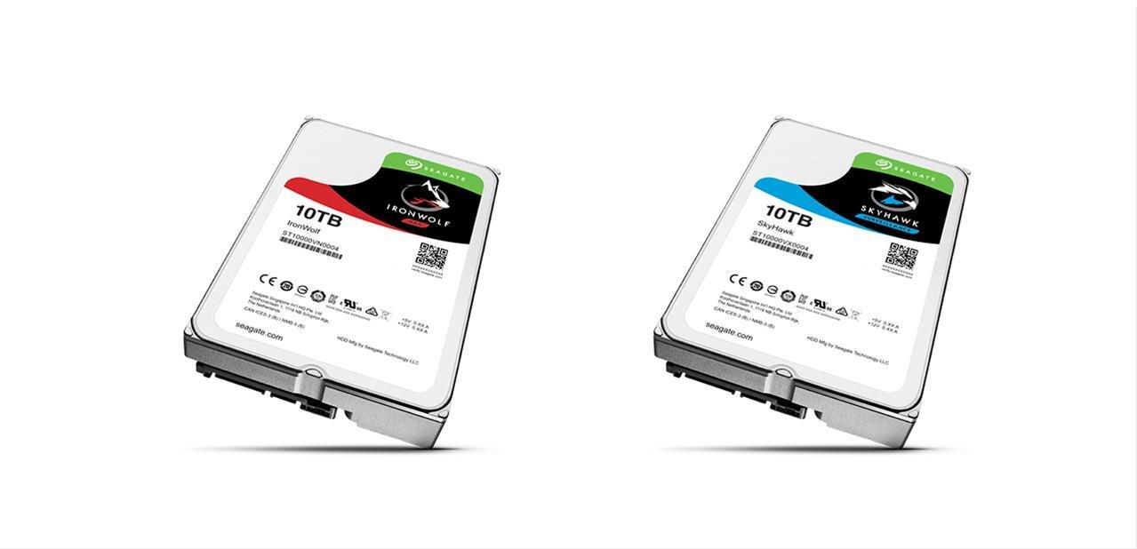 Seagate annonce trois disques durs de 10 To, deux sont déjà en cours d'expédition