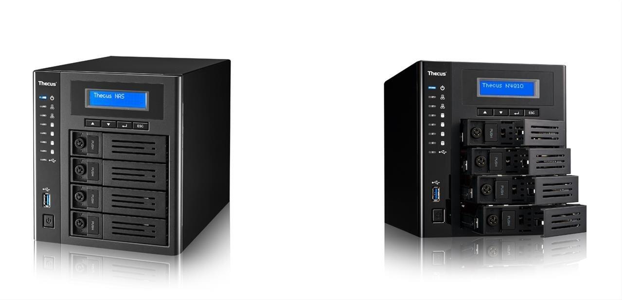 Thecus annonce son NAS N4810 avec ThecusOS 7 et USB 3.0 Type-C