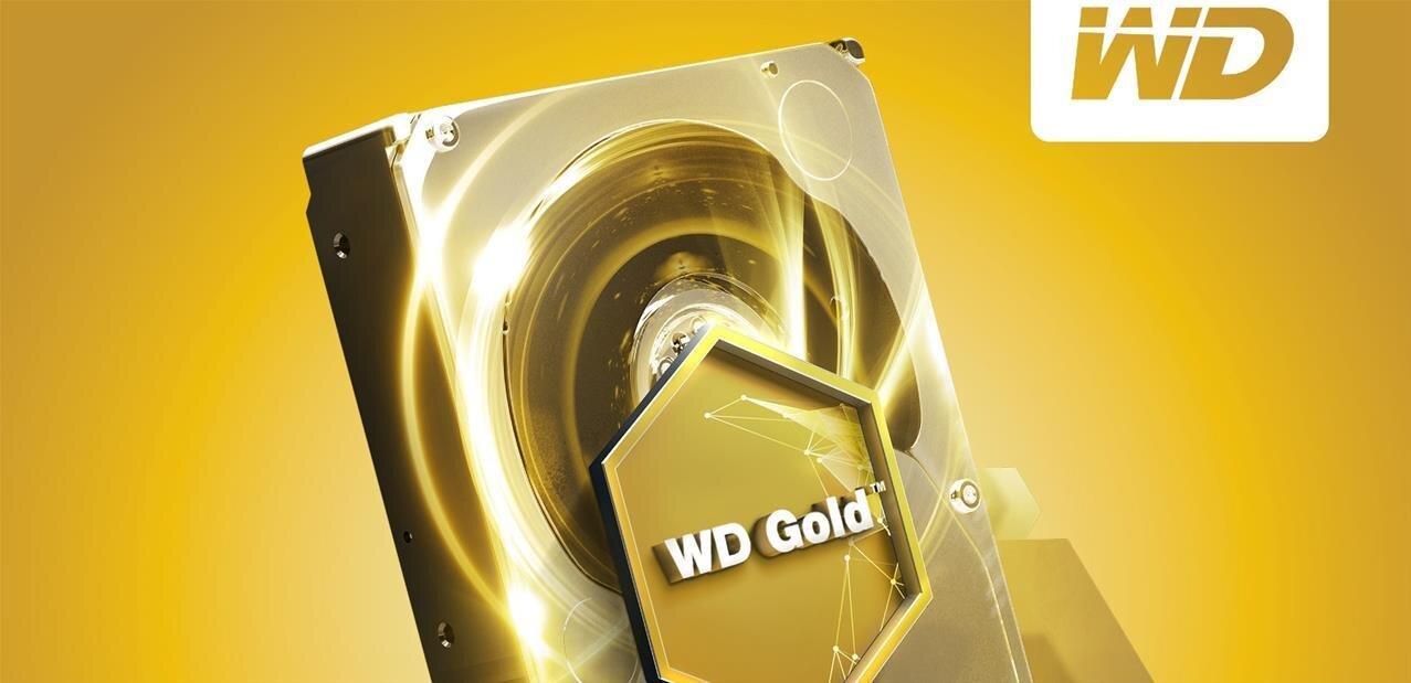 Western Digital annonce un disque dur Gold de 10 To à 7 200 tr/min