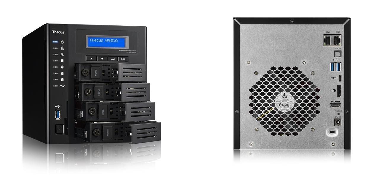 Thecus W4810 : un NAS sousWindows Storage Server2012 avec USB 3.0 Type-C