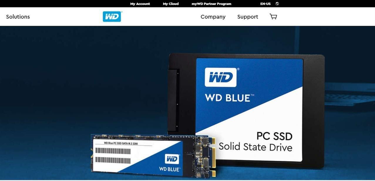 Western Digital lance deux séries de SSD TLC : les Blue et Green