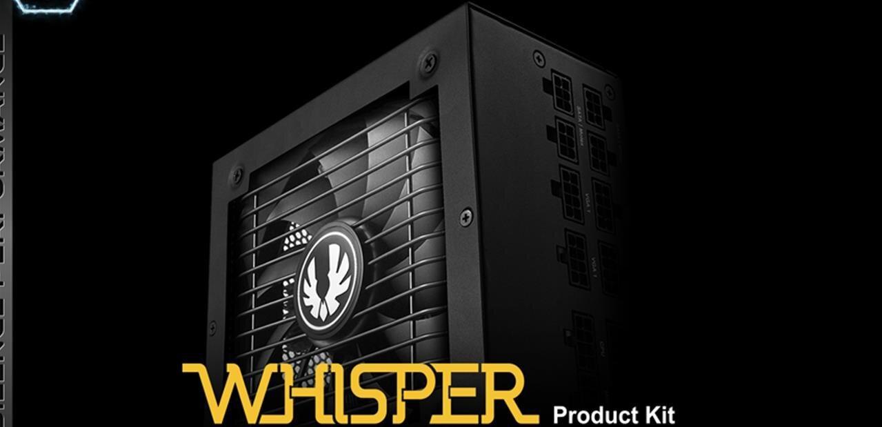 BitFenixWhisper M : des alimentations modulaires 80PLUS Or de 450 à 850 W, dès 77,90 €