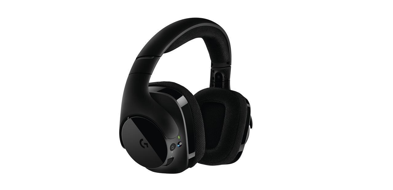 Logitech G533 : un casque sans fil pour joueurs avec batterie amovible annoncé à 150 euros
