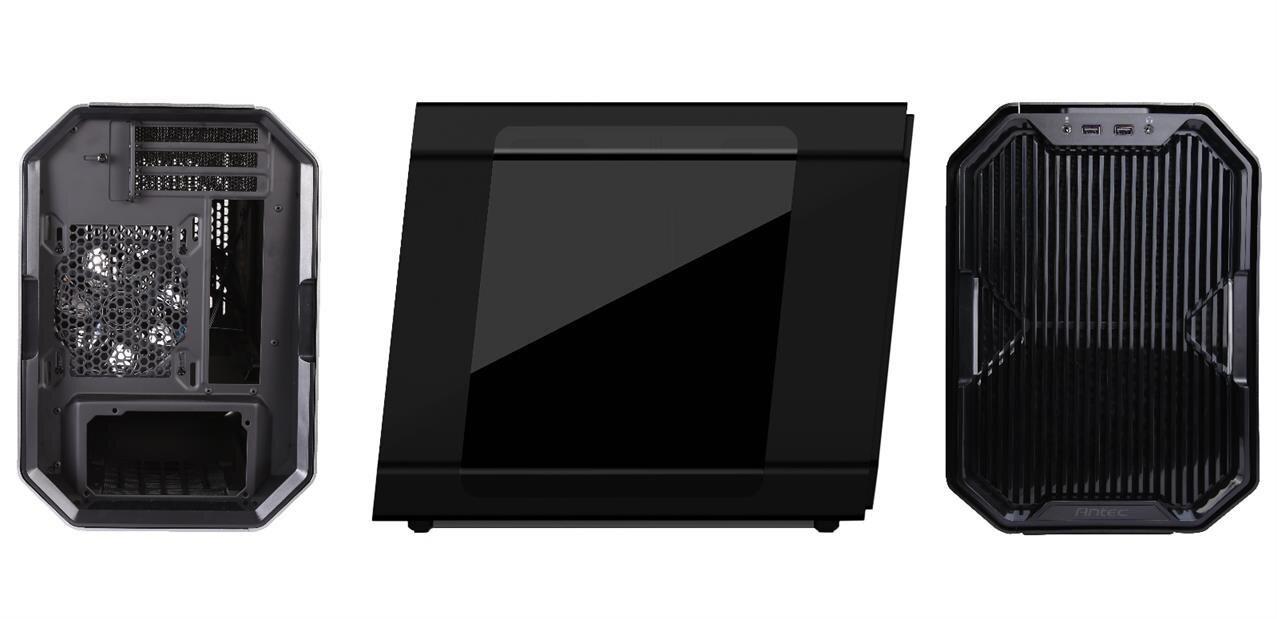 Antec annonce le Cube, un boitier mini ITX en collaboration avec EK Water Blocks
