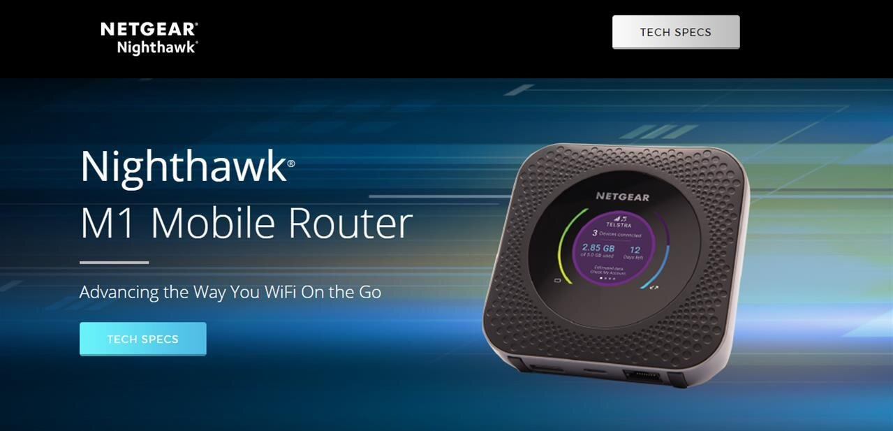 Nighthawk M1 : le routeur mobile 4G à 1 Gb/s de Netgear arrive en Europe, quid de la France ?