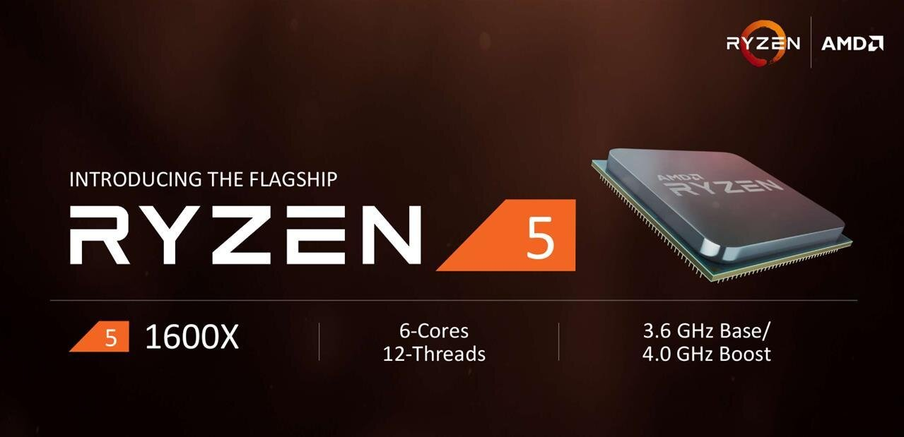 Ryzen 5 : AMD lancera quatre CPU le 11 avril, dès 169 dollars